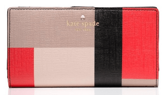 Emma Lane Fabric Stay Wallet, $68, katespade.com